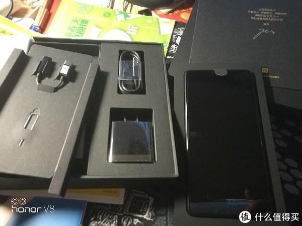 #原创新人#MI 小米 MIX 2s 智能手机 开箱图