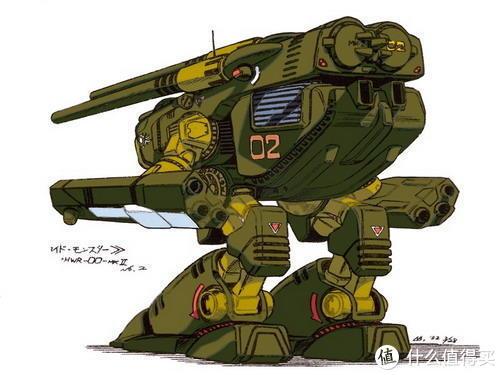 #全民分享季##剁主计划-宁波#为了大孩子们的微笑——BANDAI HWR-00-MKII Destroid Monster模型