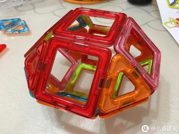 #全民分享季#AULDEY 奥迪双钻 磁力片积木32片精华装 开箱