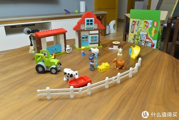 #全民分享季#低龄宝宝的好玩伴——乐高 开心农场 10869