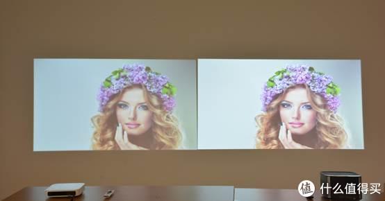 图片摘自网络,极米Z6与H1S屏摄对比1080P区别