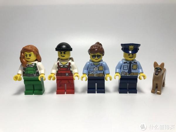 #全民分享季#剁主计划-北京#LEGO 乐高 城市系列 60136 警察局入门套装