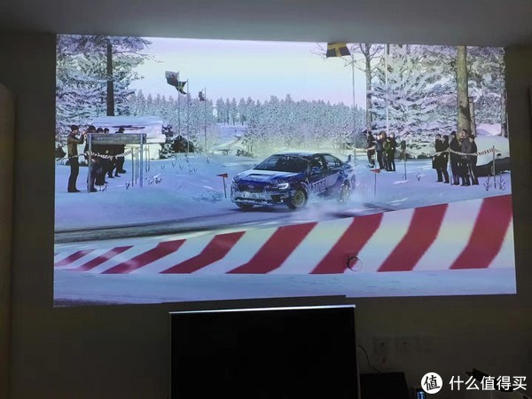 PS4《尘埃4》投影游玩抓拍