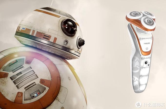 让你每天充满原力——飞利浦星球大战BB-8版电须刀 SW5700产品评测报告