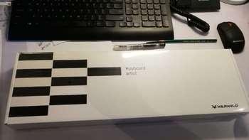 阿米洛 Z104M 静音红轴 键盘细节展示(键帽 接口 轴体)
