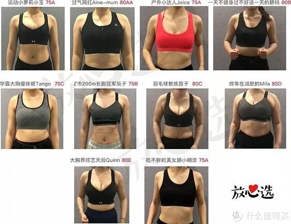 真·胸·实测14款运动内衣!大胸小胸不再摇!