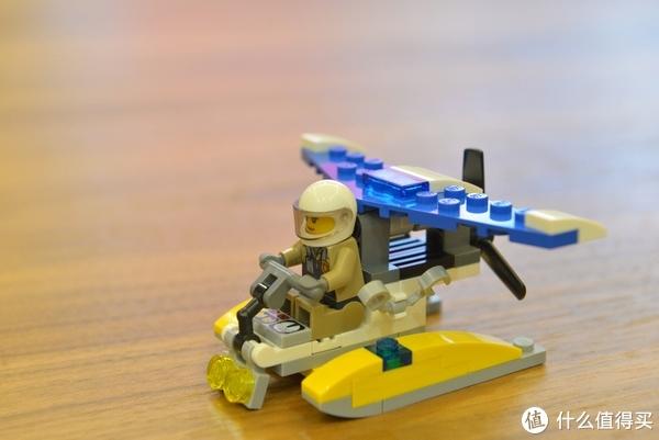 #全民分享季#三五十元也能玩乐高—LEGO 乐高 30359 警务飞机 拼砌包 开箱