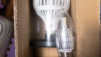 欧司朗LED灯泡外观展示(长度 灯罩 灯架 底座)