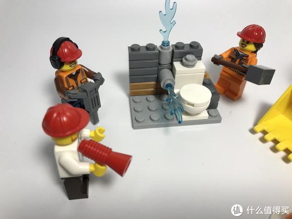 #全民分享季#剁主计划-北京#LEGO 乐高 城市系列 60072 城市建筑工程入门套装