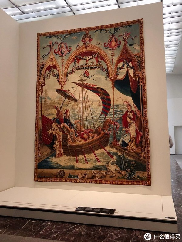 中西文化合璧的大地毯