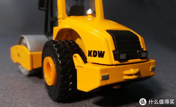 #全民分享季#Cadeve 凯迪威 1:50 单钢轮压路机 开箱试玩