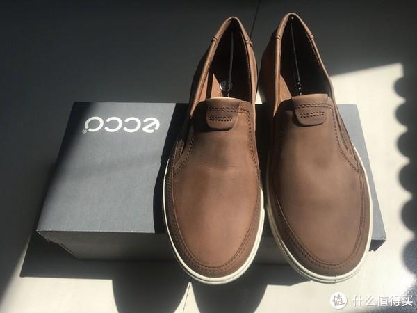 #剁主计划-天津#ECCO 爱步 Gary slip on 套脚休闲鞋 开箱及转运心得