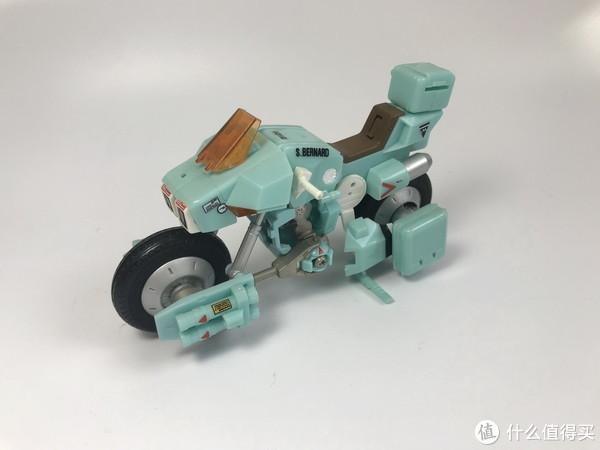 #全民分享季#剁主计划-北京#太空堡垒第三部(机甲创世纪)Brave 合金 变形摩托车