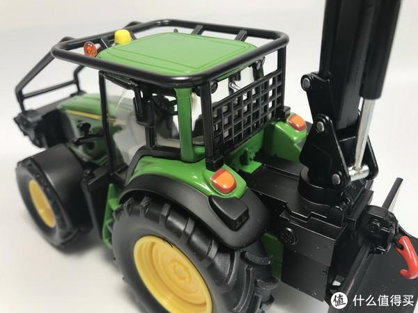 #全民分享季#剁主计划-北京#我的首批SIKU 仕高 合金车模 1:32 4063 约翰迪尔林业拖拉机