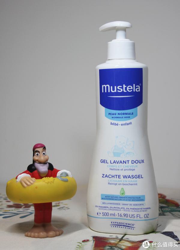妙思乐/mustela二合一洗发沐浴露