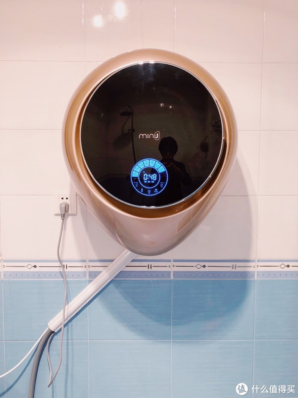 #全民分享季#剁主计划-长沙#宝妈神器:小吉壁挂洗衣机使用体验