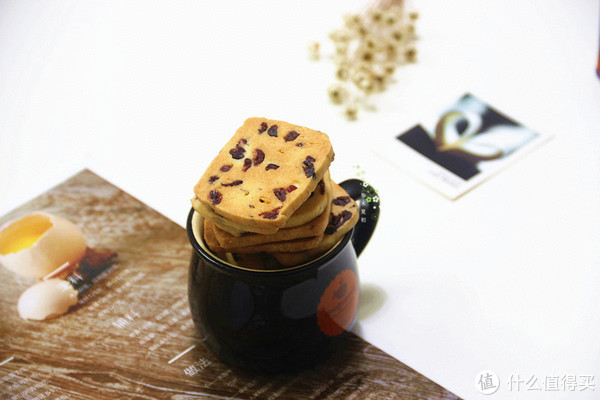 #剁主计划-佛山#无需打发黄油,适合烘焙新手制作:蔓越莓饼干