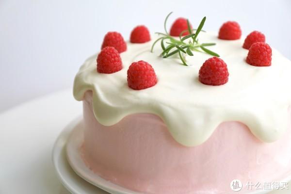 Freesiaa Made 篇七十一:【视频】树莓奶油 滴落蛋糕—老夫的少女心已爆棚