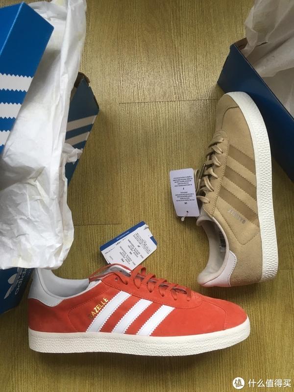 #剁主计划-青岛#原创新人#eBay首单:Adidas 阿迪达斯 gazelle 休闲运动鞋 开箱