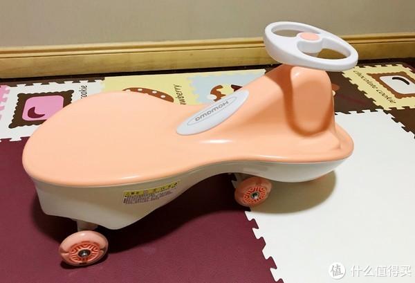 #全民分享季##原创新人#好娃娃扭扭车——明明可以靠颜值,偏偏却要靠实力