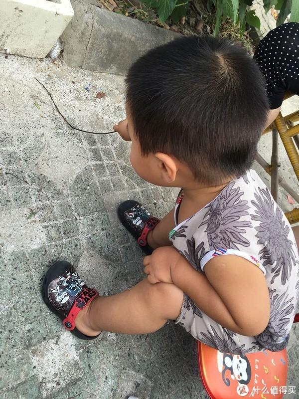 #全民分享季#晒晒多渠道购买的宝宝crocs洞洞鞋