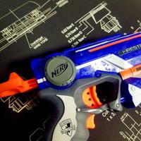 孩之宝 Nerf 精英系列 榴弹软弹枪外观展示(造型 枪口 握把 枪身)