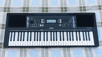 雅马哈 PSR-E363 数码操作电子琴外观展示(接口|连接线|键位|显示屏|说明书)