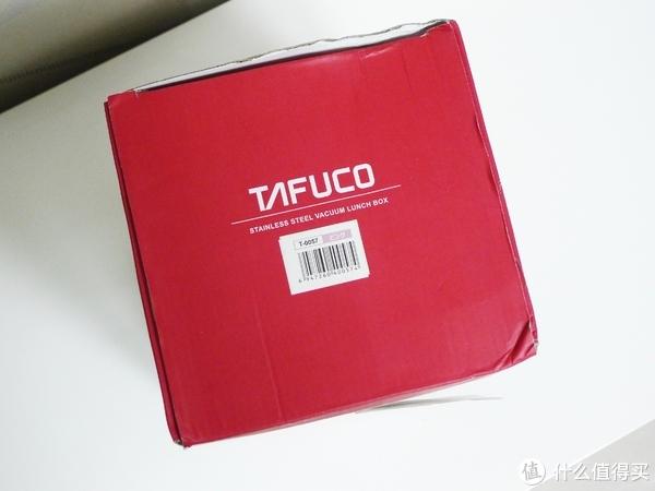 包装顶部是泰福高的英文logo和条形码