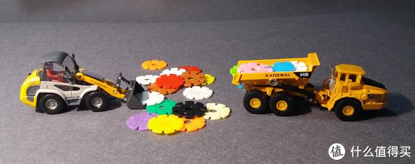 #全民分享季#Cadeve 凯迪威 1:50轻型铲车+1:87装卸车 分享