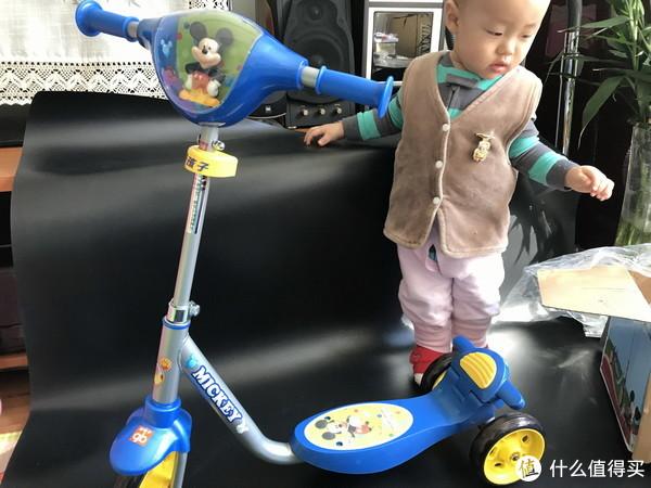 #全民分享季#剁主计划-北京#我家的第N辆车-好孩子 SC30 儿童滑板车小体验