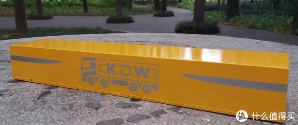 #全民分享季#  凯迪威1:50斗篷式平板运输车 开箱试玩