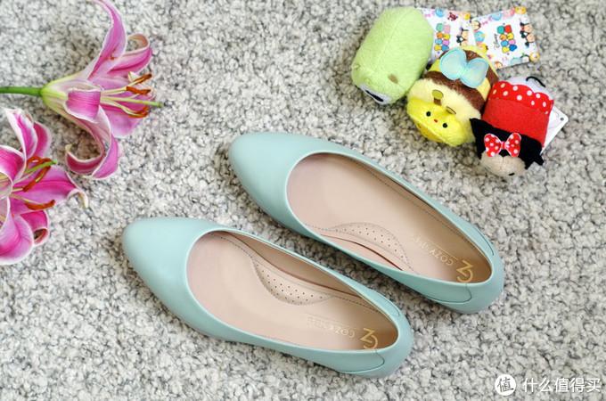 一秒变成小仙女:COZY STEPS 浅口鞋 简单测评