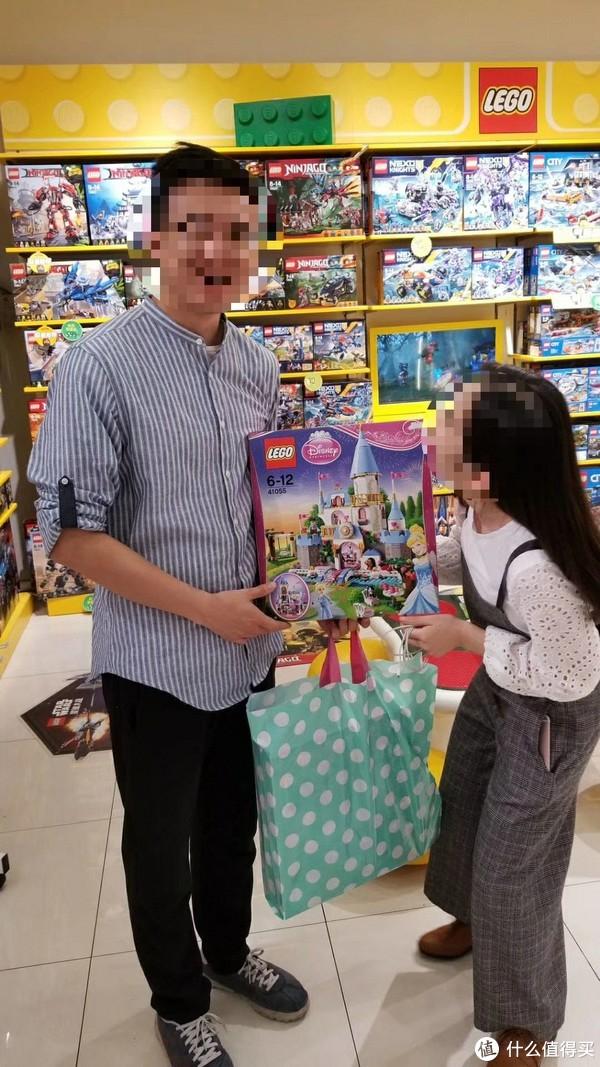 #全民分享季#LEGO 乐高 41055 灰姑娘的浪漫城堡 开箱