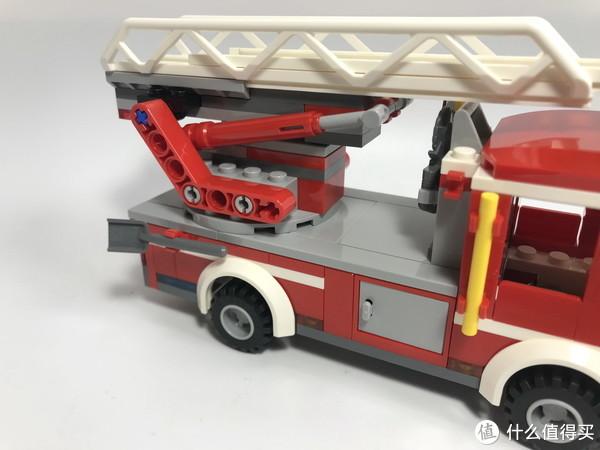#全民分享季#剁主计划-北京#LEGO 乐高 城市系列 60107 云梯消防车 开箱