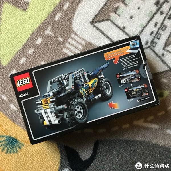 #全民分享季#Lego 科技系列 42034 四轮回力越野摩托