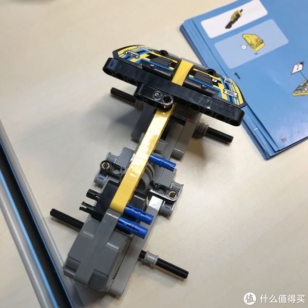 乐高这个大坑 篇四十九:#全民分享季#Lego 科技系列 42034 四轮回力越野摩托