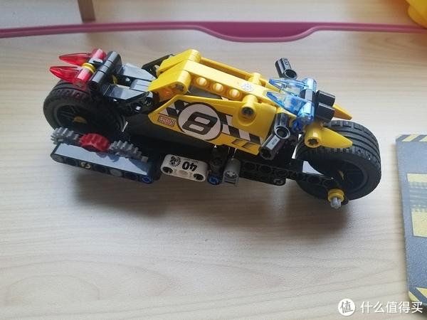 LEGO 42059特技卡车+42058特技摩托 合体回力车#剁主计划-武汉#全民分享季#