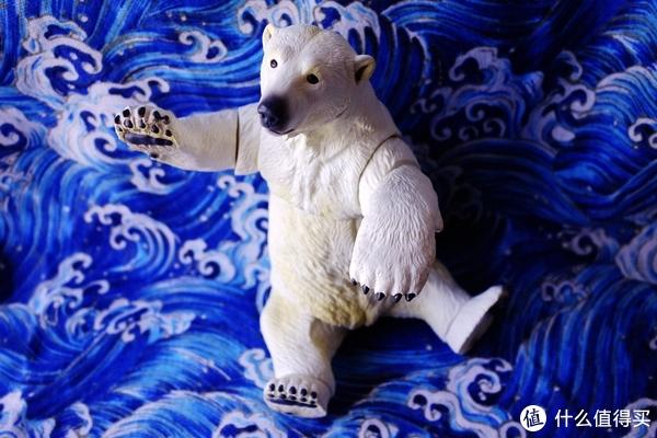 #全民分享季#剁主计划-上海#萌熊来袭:KAIYODO  海洋堂 北极熊 可动 手办模型 Sofubi Toy Box 009
