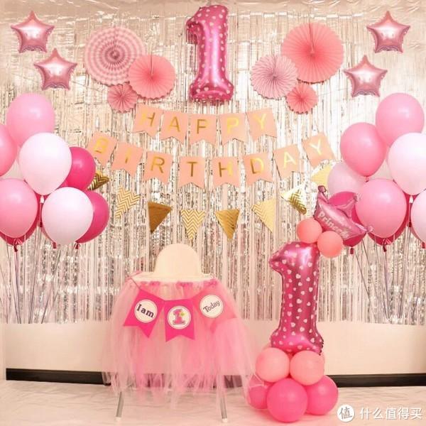 #全民分享季#如何用两百元搞定宝宝周岁生日布置