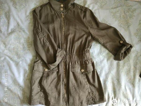 #全民分享季#这个春天,我迷上了H&M中长外套