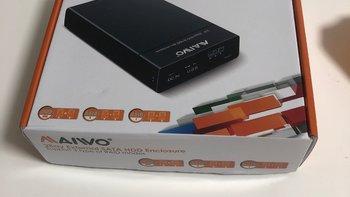 麦沃 硬盘盒 USB3.0接口 固态硬盘开箱试用(读取速度|电源线|硬盘盒)