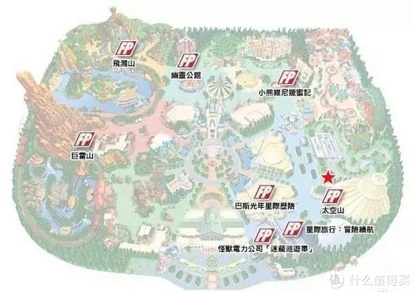 FP分布地图