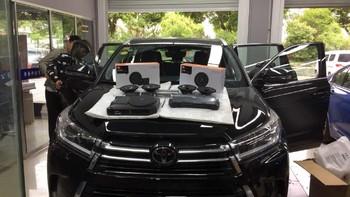 丰田 汉兰达改装JBL全套音响购买过程(主机|功放|处理器|箱体)