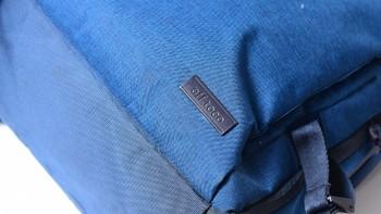 宜丽客 DGB-S037双肩包开箱展示(正面|角标|内侧|网袋|肩带)