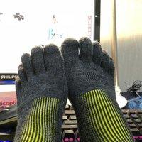 有幸中两次,温暖升级---GearlabThermolite发热3D五指袜