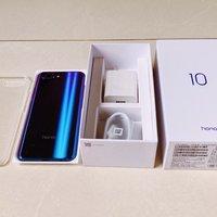 荣耀 10 GT 智能手机外观展示(外壳|按键|厚度)