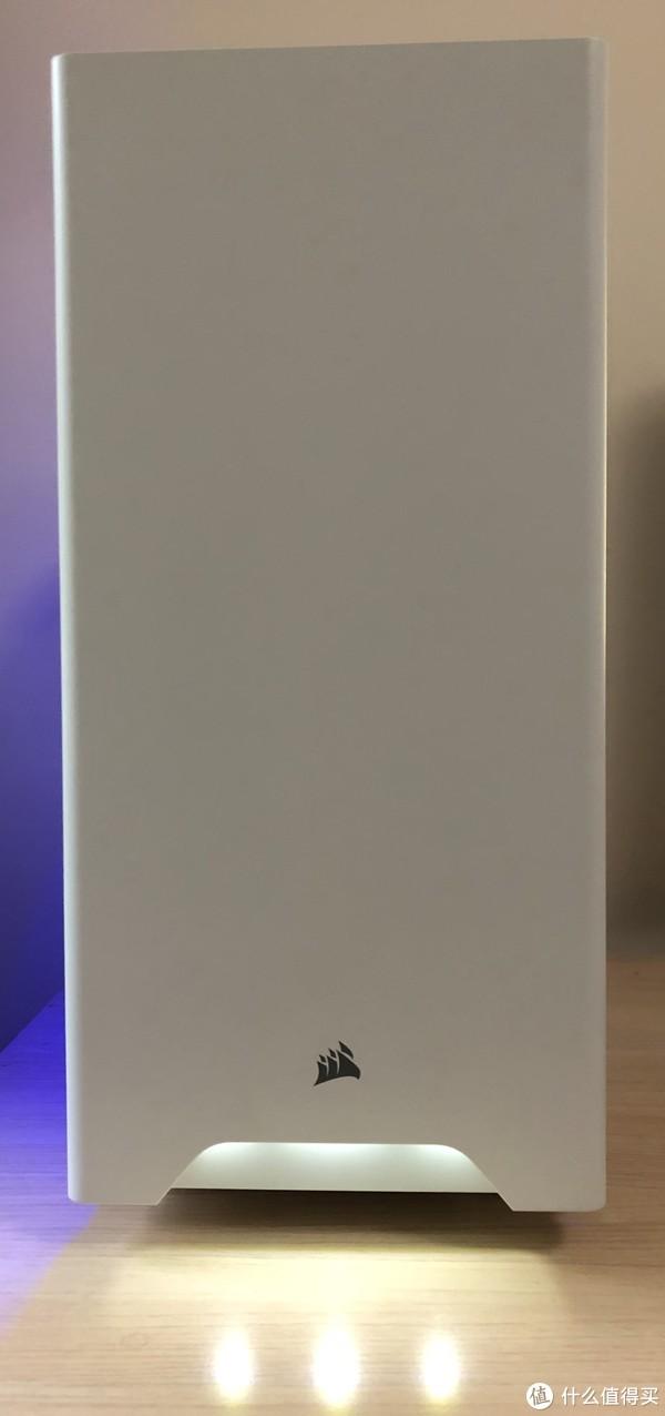 #原创新人#颜值即正义:Corsair 美商海盗船 Carbide 275R 白色机箱 开箱