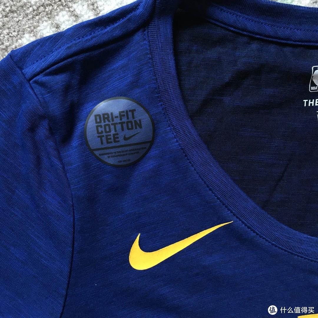 #全民分享季#NIKE 耐克 NBA 金州勇士队女子球迷短袖T恤