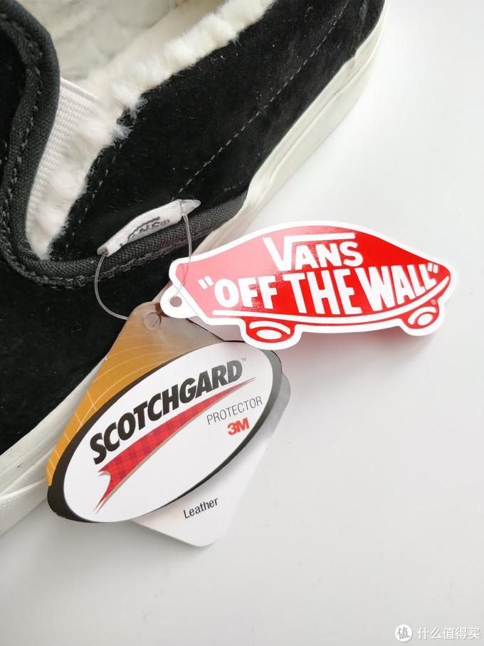 鞋吊牌,还有这次采用的scotchgard三防技术