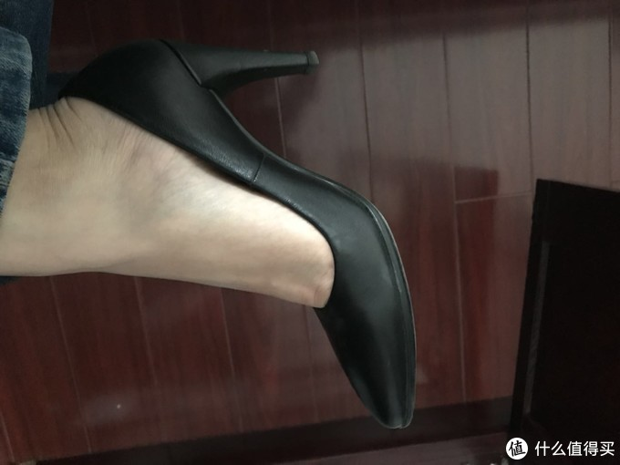 ECCO 爱步 SHAPE 75 POINTY 高跟鞋开箱晒单